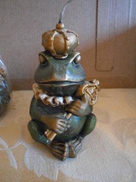 "Kerze ""Froschkönig""  // Art.-Nr. 003"