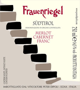 Merlot / Cabernet Franc Frauenriegel 2016