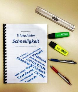 """Workbook """" Erfolgsfaktor Schnelligkeit"""""""