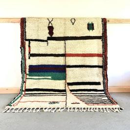 Beni Ourain Azilal Berber Teppich 2,38m x 1,58m