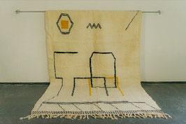 Beni Ourain Berber Teppich 3,10m x 2,00m