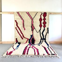 Beni Ourain Azilal Berber Teppich 2,60m x 1,53m