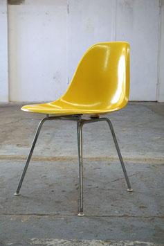 Fiberglass Sidechair Canary Yellow