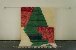 Beni Ourain Azilal Berber Teppich 2,37m x 1,57m