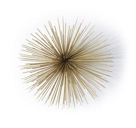 ø27 cm L Stardust Wannddekoration Wall Decoration Starburst von Mojoo Gold