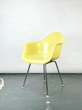 Herman Miller Eames Fiberglas Armchair in Lemon Yellow