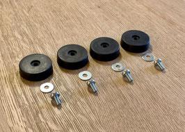 4x Shock Mounts für Herman Miller Fiberglas Sidechair/Armchair