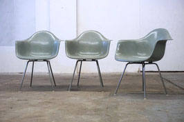 Charles Eames Fiberglas Armchair Sitzschale Seafoam Green