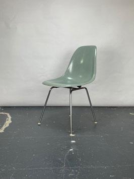 Herman Miller Eames Fiberglass Sidechair in Seafoam Green