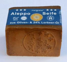 Aleppo Seife Olivenöl mit 24% Lorbeeröl, 200g