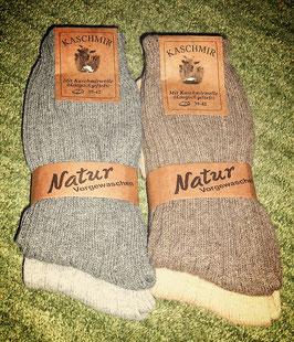Socken mit Kashmir