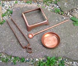Kupferteile einzeln