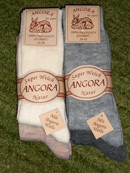Socken mit Angora