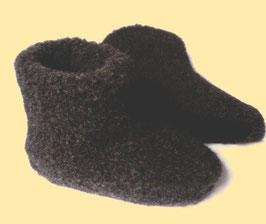Wollstiefel schwarz