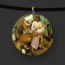 Der Kampf zwischen Fasching und Fasten, Pieter Bruegel d. Ä.