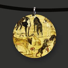 Tierstudie (Hunde), Jan Brueghel d. Ä.