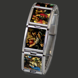 "Edelstahl Armband ""Alte Meister"""