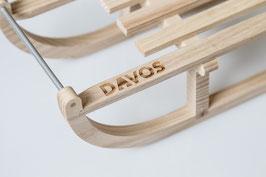Mini Davoserschlitten aus Eschenholz