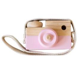 Kinder Holz Kamera (Rosa)