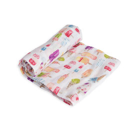 little unicorn Cotton Muslin Brain Freeze