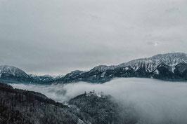Premiumdruck GEORGENBERG im Nebel
