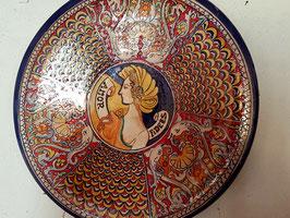 piatto di ceramica artistica