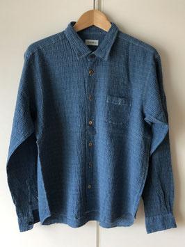Japanese Blue  Shirt for Men