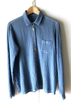 Japanese Blue Shirt for Women