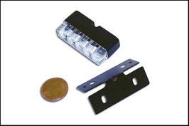 MINI-LED-Nummernschildbeleuchtung mit Halter