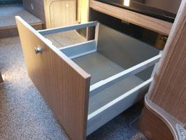 NEU: Toni's Bausatz für Schubkasteneinbau unter dem Kühlschrank (hohes Fach) für Carado / Sunlight / Etrusco ab Baujahr 2019