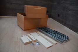 Toni's Bausatz für Schubladeneinbau in Spülenschrank für Carado / Sunlight / Etrusco