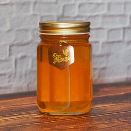 「みかんはちみつ」と「ラズベリーはちみつ」と「国光養蜂場れんげ/菜の花はちみつ」のギフトセット