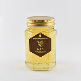 【精製蜂蜜】レモン果肉入りはちみつ 200g