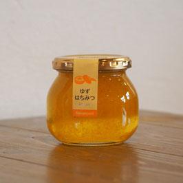【精製蜂蜜】ゆず果肉入りはちみつ 240g