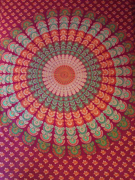 Mandala Goe Hippie Tagesdecke Wandbehang