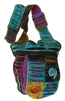 Patchwork Tasche Mala im Ethno/Hippie Look