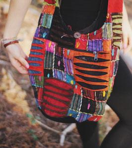 Ethno Hippie Bohemian Nepal Patchwork Tasche Sonali
