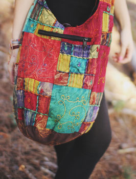 Patchwork Tasche Diya im Ethno/Hippie Look