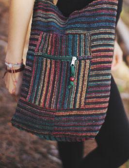Patchwork Tasche Meena im Ethno/Hippie Look
