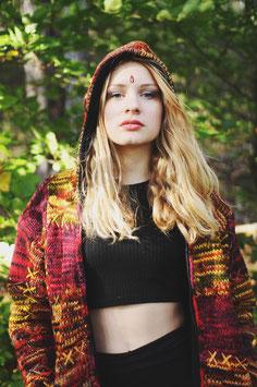 Ethno Hippie Wolljacke