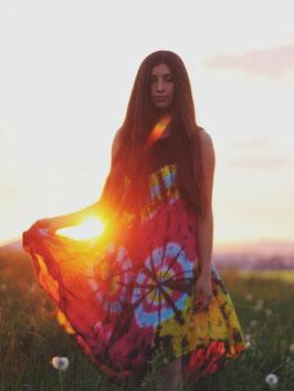 Hippie Batik Kleid Ajala