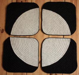 White Q 4er Set