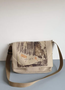Grand sac bandoulière Oiseaux