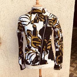 """Veste zippée, imprimé """"camouflage nature"""""""