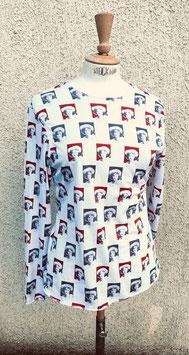 T-shirt jersey, portrait d'enfant du XVIIIe