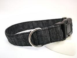 """Hundehalsband mit Klickverschluss """"Outdoor-schwarz"""""""