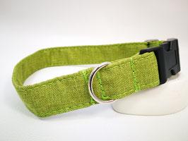 """Hundehalsband mit Klickverschluss """"Outdoor-limette"""""""