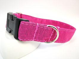 """Hundehalsband mit Klickverschluss """"Outdoor-pink"""""""