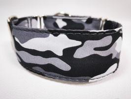 "Zugstopp-/Martingal-Halsband ""Camouflage-grau"""