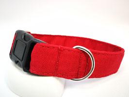 "Hundehalsband mit Klickverschluss ""Outdoor-rot"""